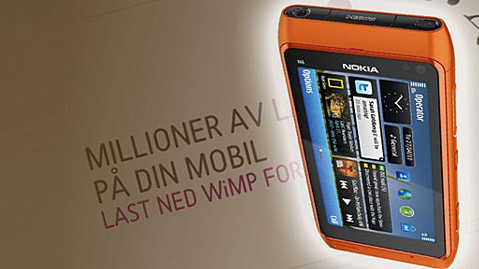 Snart får du Wimp på Nokia-en din