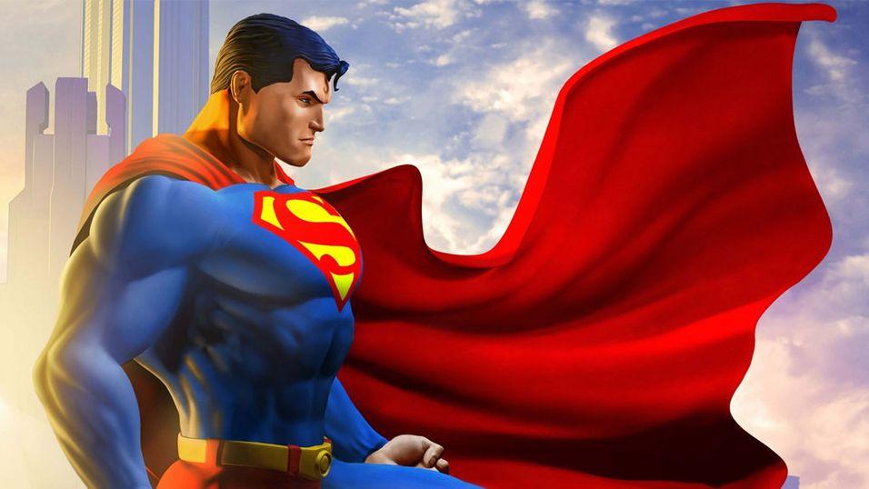 Blir superhelt for en dag