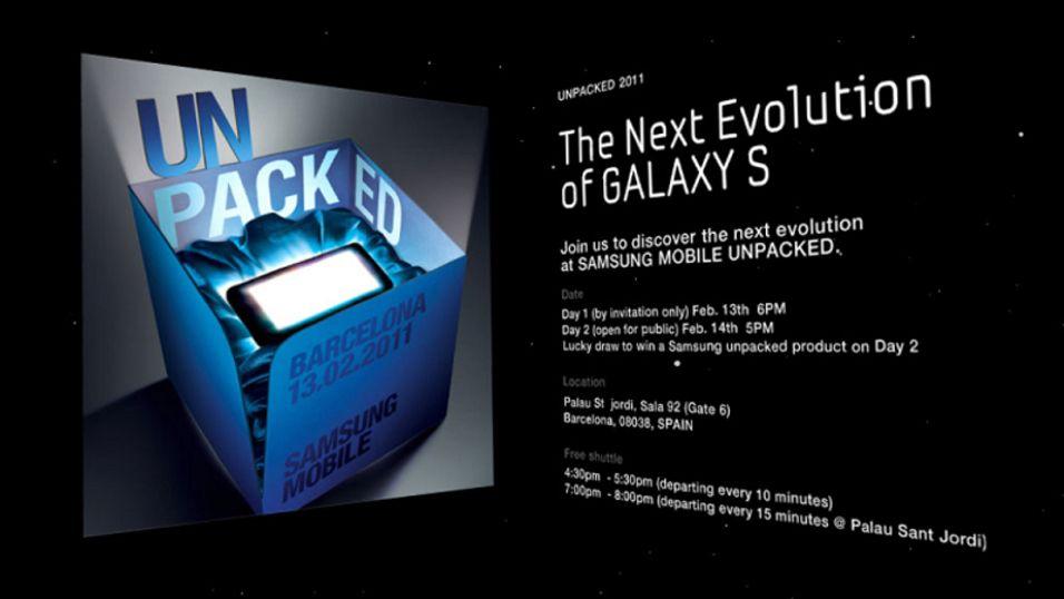 Samsung teaser Galaxy S2