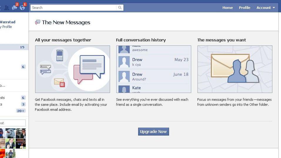 GUIDE: Slik får du Facebook-mail