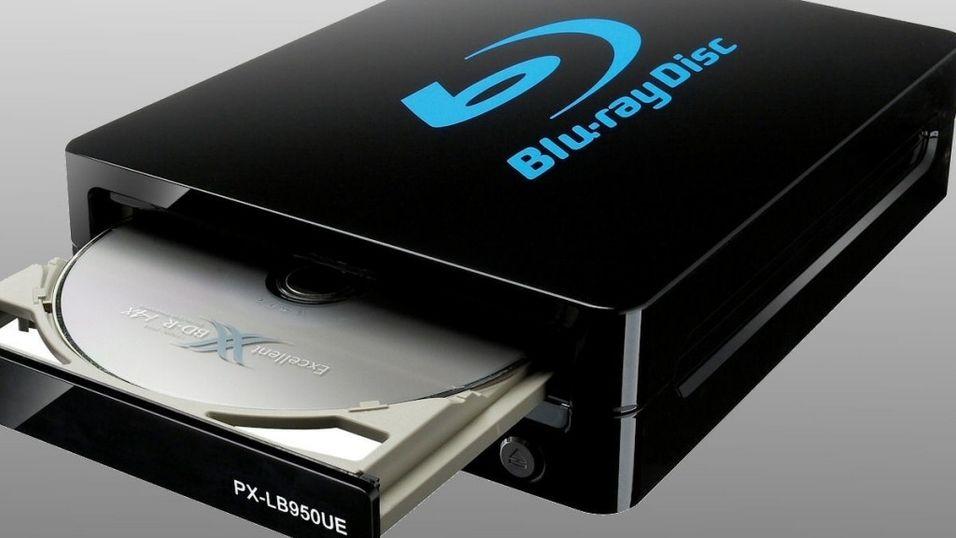 Superrask Blu-ray fra Plextor