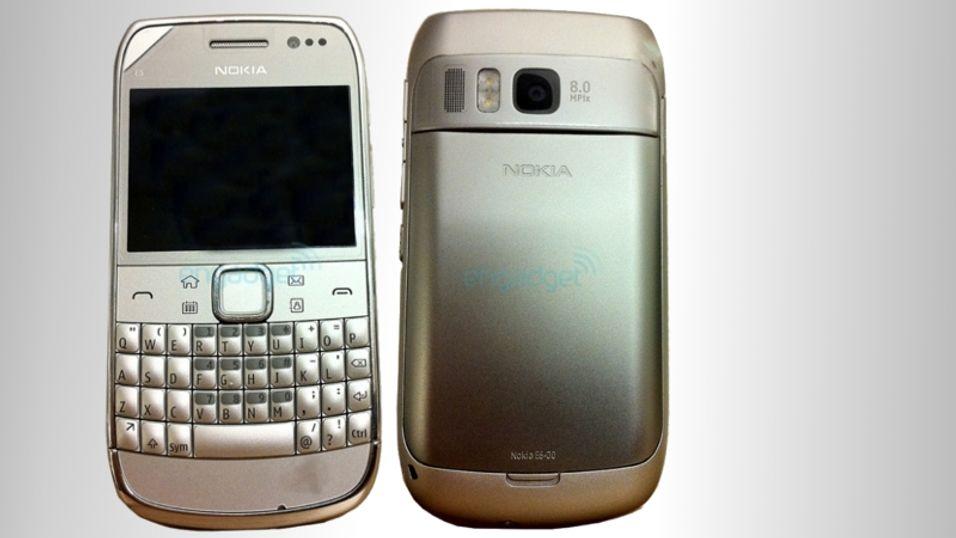 Har Nokia E6-00 trykkskjerm?
