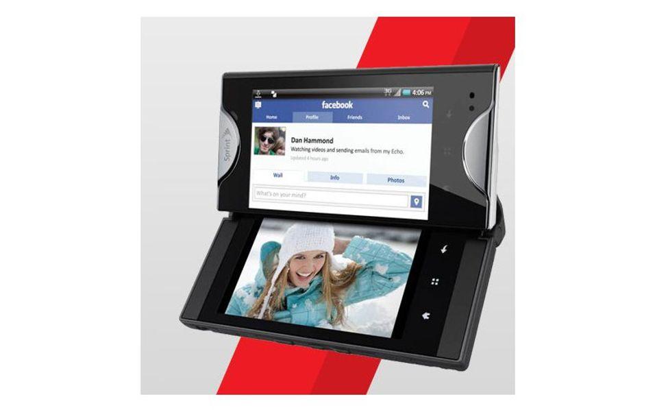Android med to skjermer