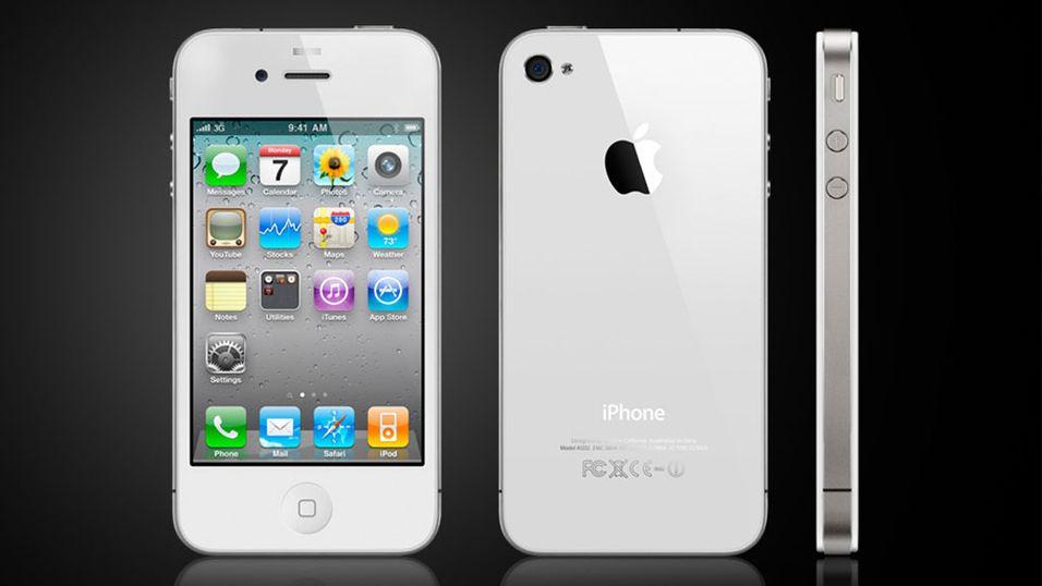– Nå kommer hvit iPhone 4