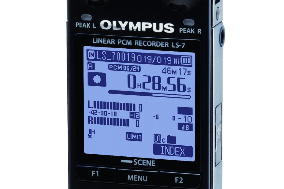 Ta opp lyden med Olympus LS-7