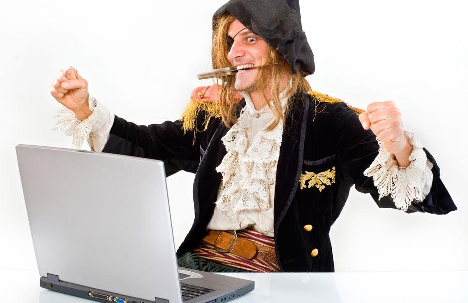 - 24 prosent av internettrafikken er ulovlig