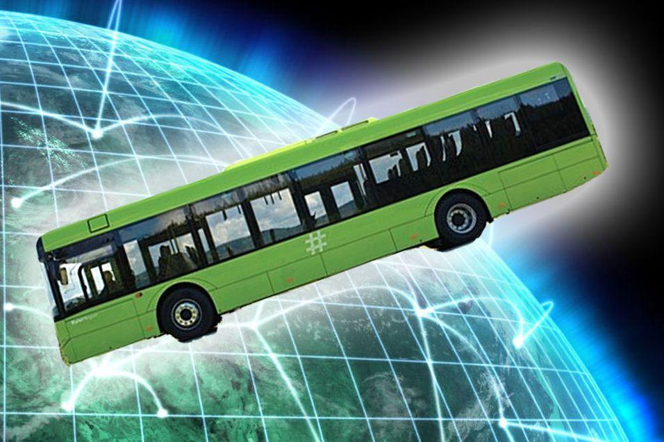 NITH tilbyr nett på busser
