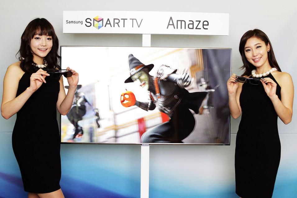 Syltynne 3D-skjermer fra Samsung