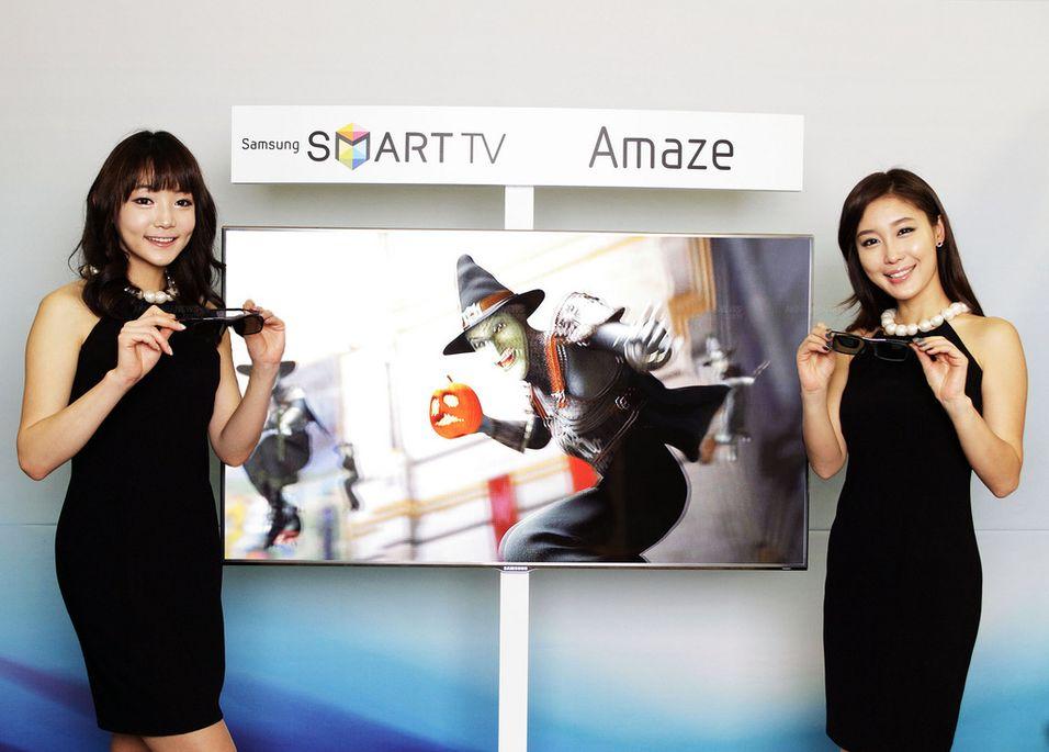 Samsung viser nye 3D-Smart TV-er