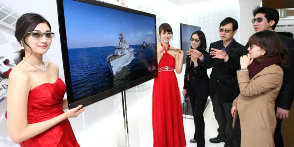 Samsung og LG krangler om 3D-standard