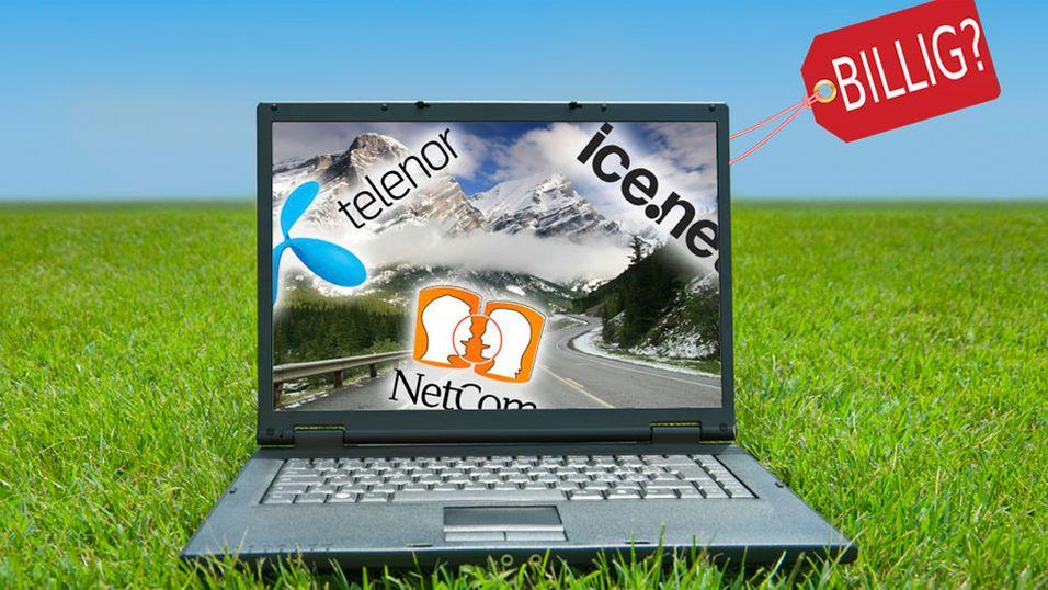 Telenor, NetCom eller Ice.net?
