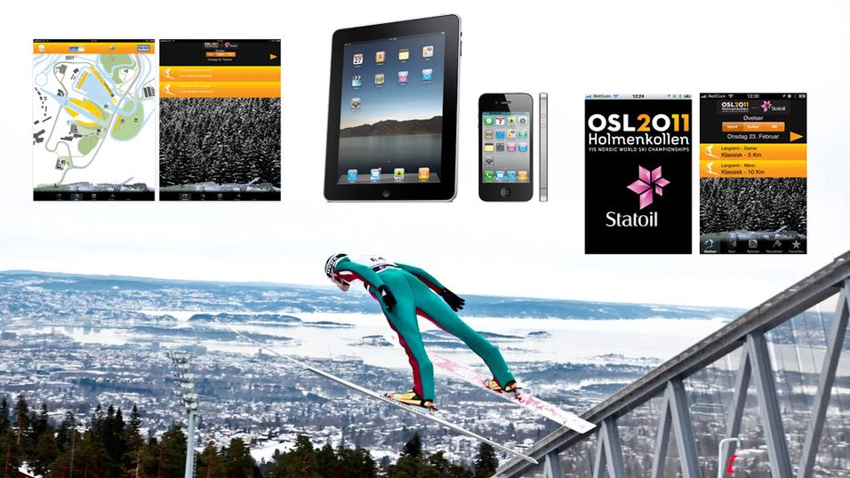 Følg Ski-VM på iPhone og iPad