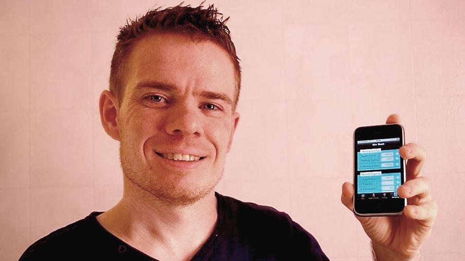 Sjekk restskatten med Iphone