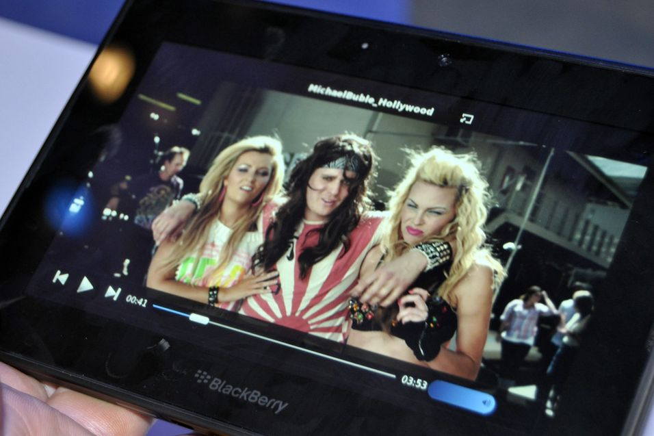 BlackBerry PlayBook kommer snart