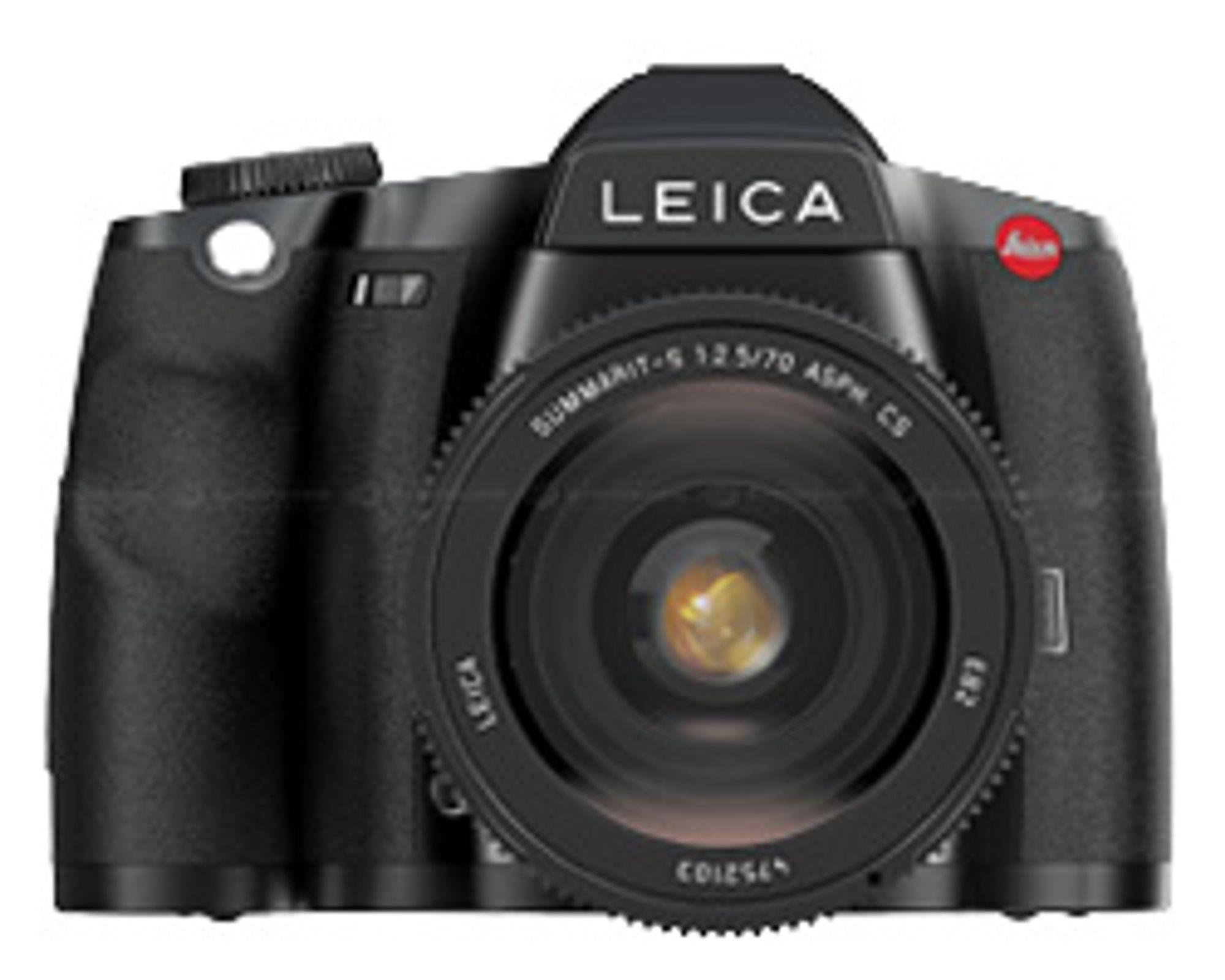 Leicas mellomformatkamera S2.