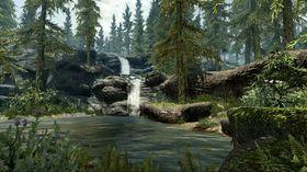 The Elder Scrolls V: Skyrim skal visstnok komme i oppusset utgave til PlayStation 4 og Xbox One med bedre grafikk. Dette er fra originalversjonen.