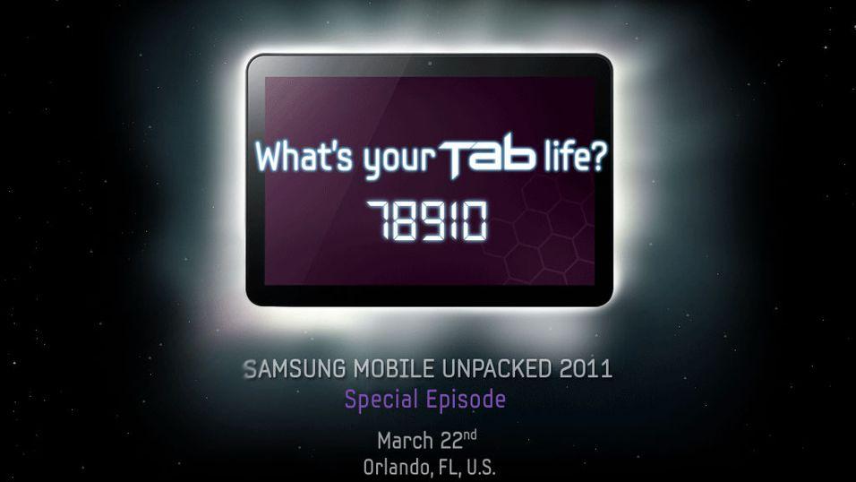 Nå viser Samsung sitt neste nettbrett