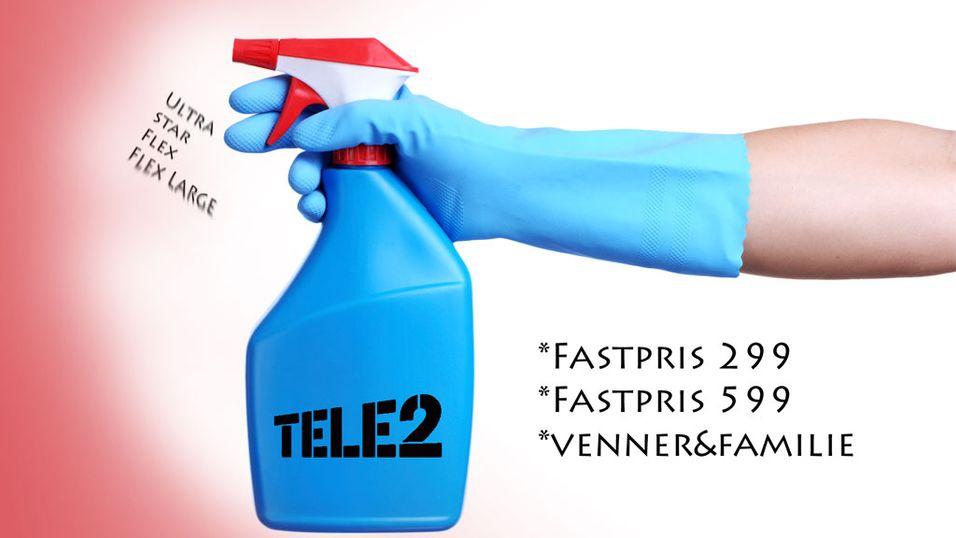 Vårrengjøring hos Tele2