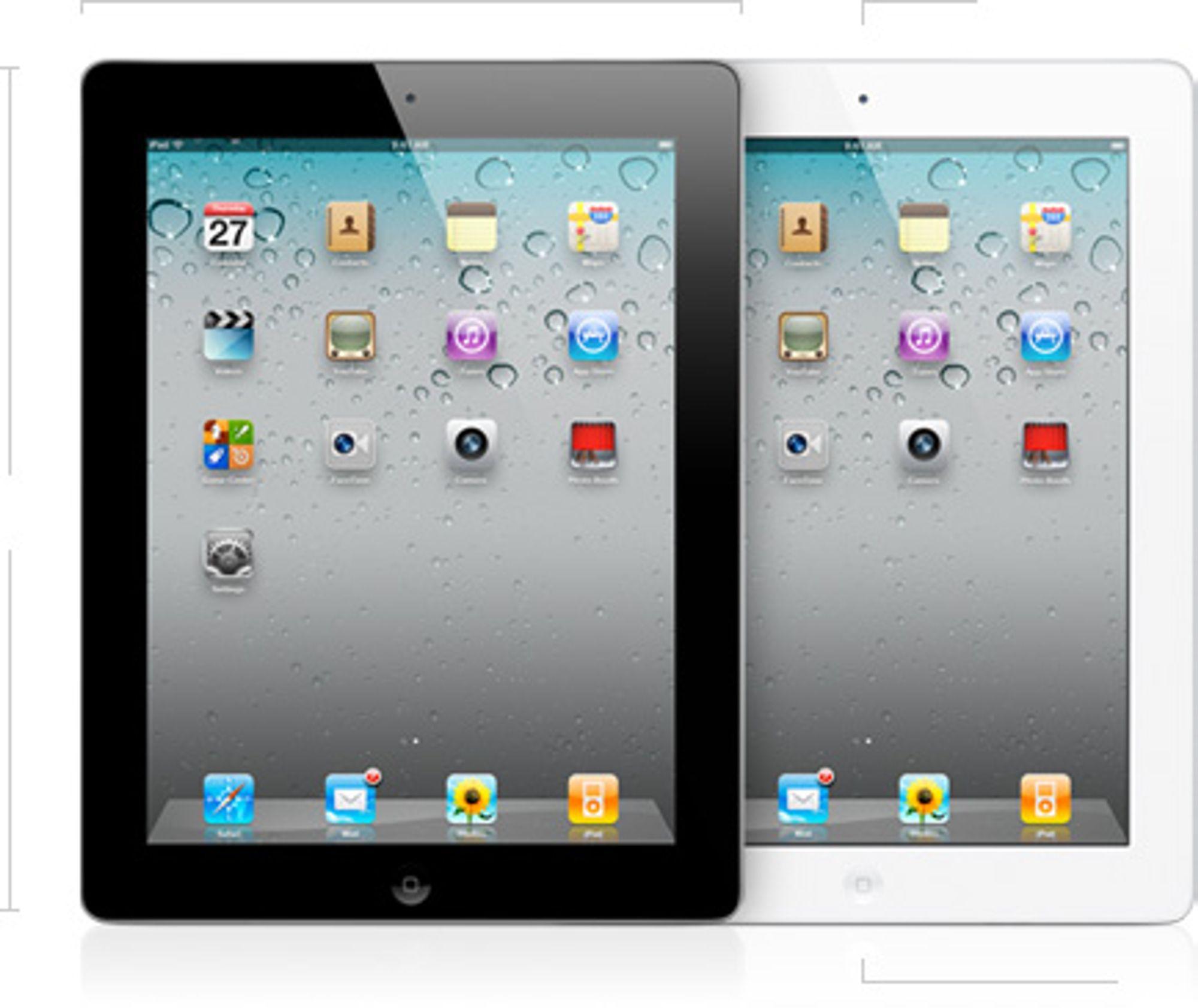 Apple iPad 2 16 GB (2. Generasjon)