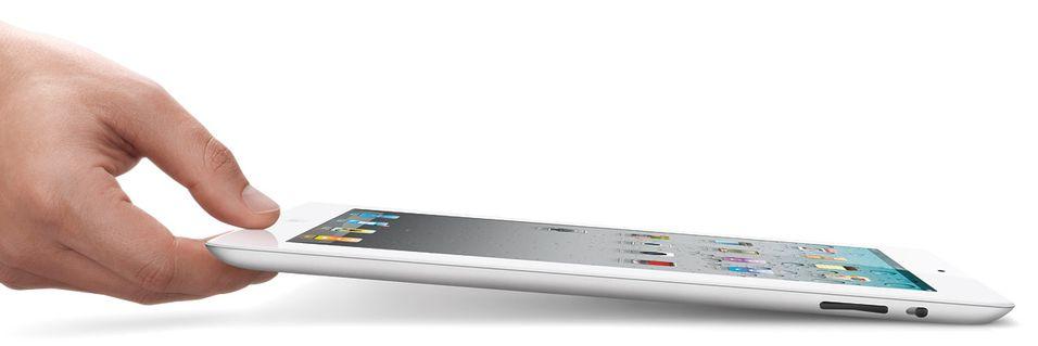 - iPad 2, fem ganger kjappere