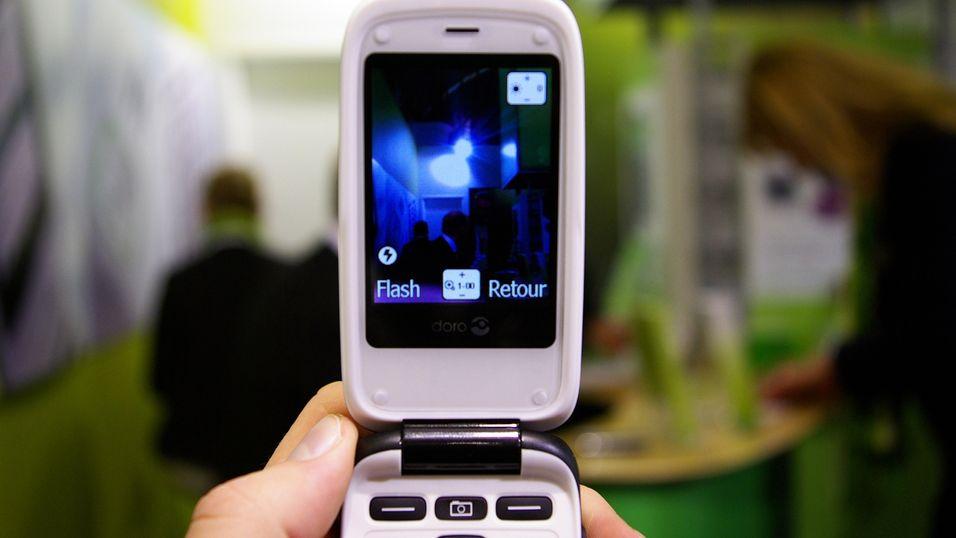 Doro med kamera og GPS