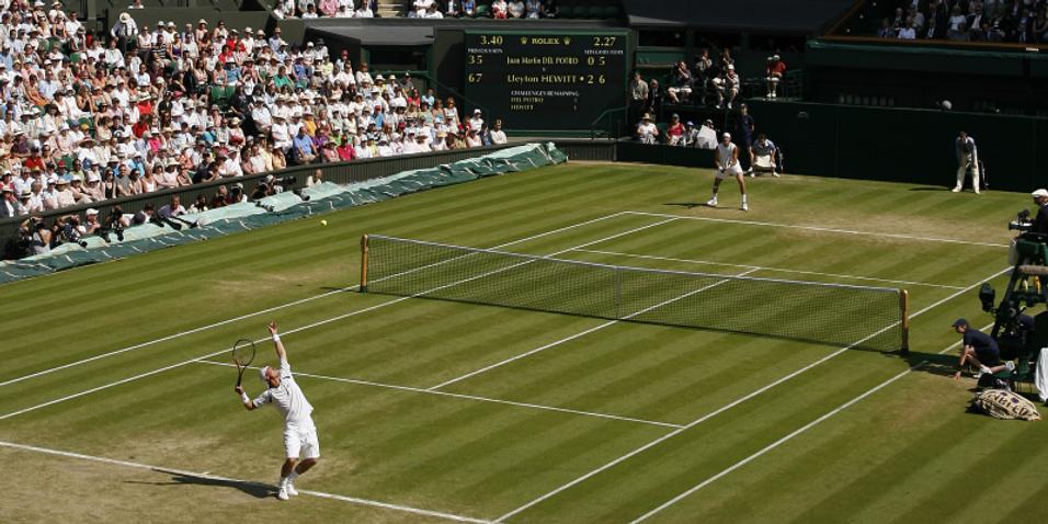 Sony viser tennis i 3D