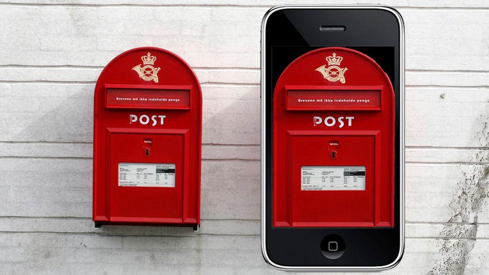 SMS betaler portoen