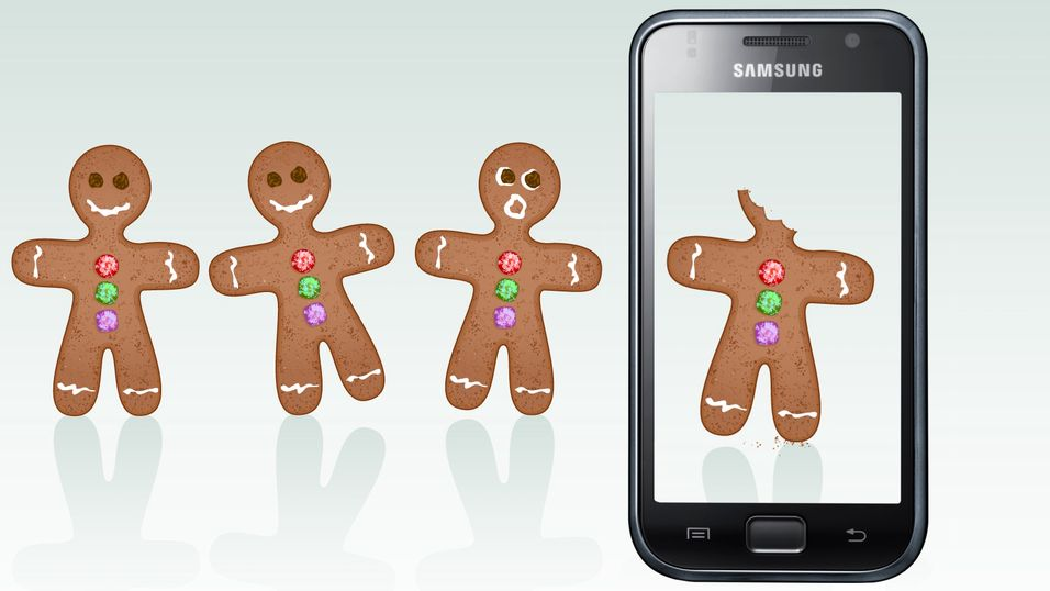 – Straks Gingerbread til Galaxy S