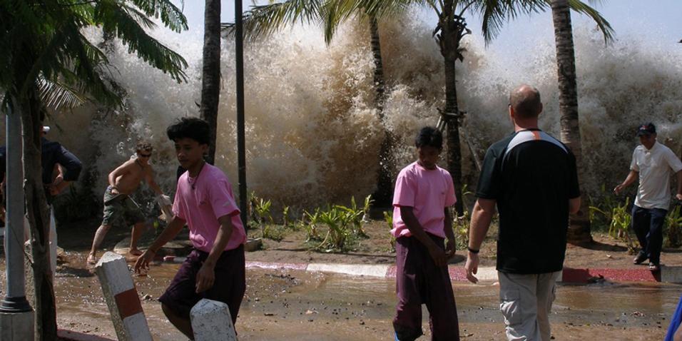Sony rammet av tsunamien
