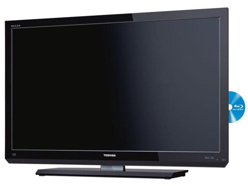 TV med innebygd Blu-ray-spiller