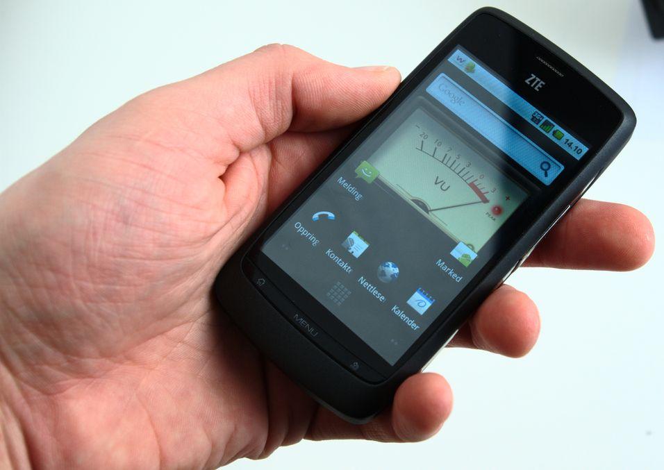 ZTE Blade er NetComs mest populære Android-mobil.