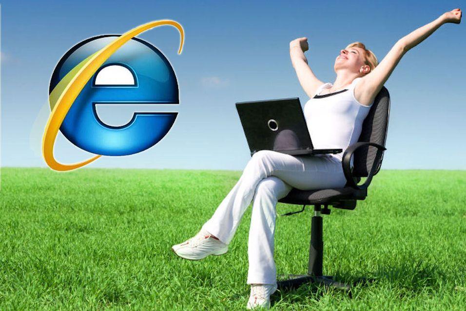 Internet Explorer 9 er klar