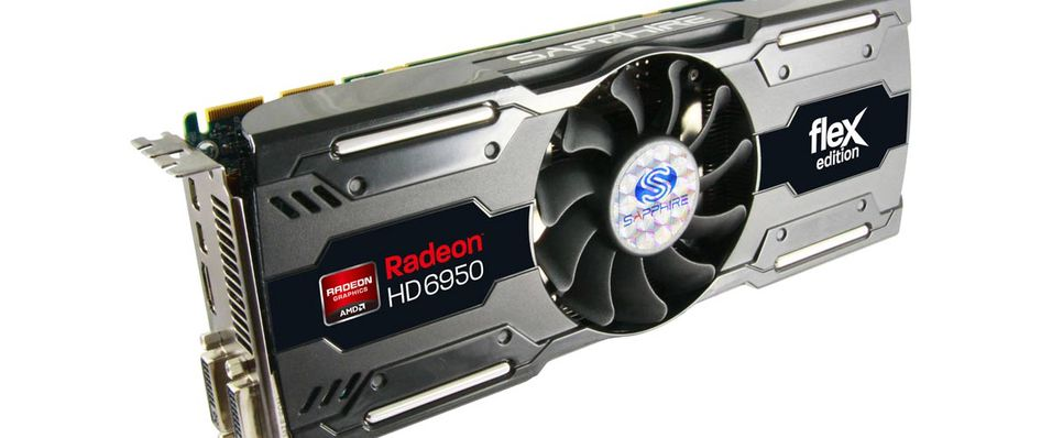 Fleksibel Radeon HD 6950