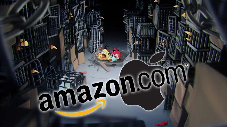Apple går etter Amazon