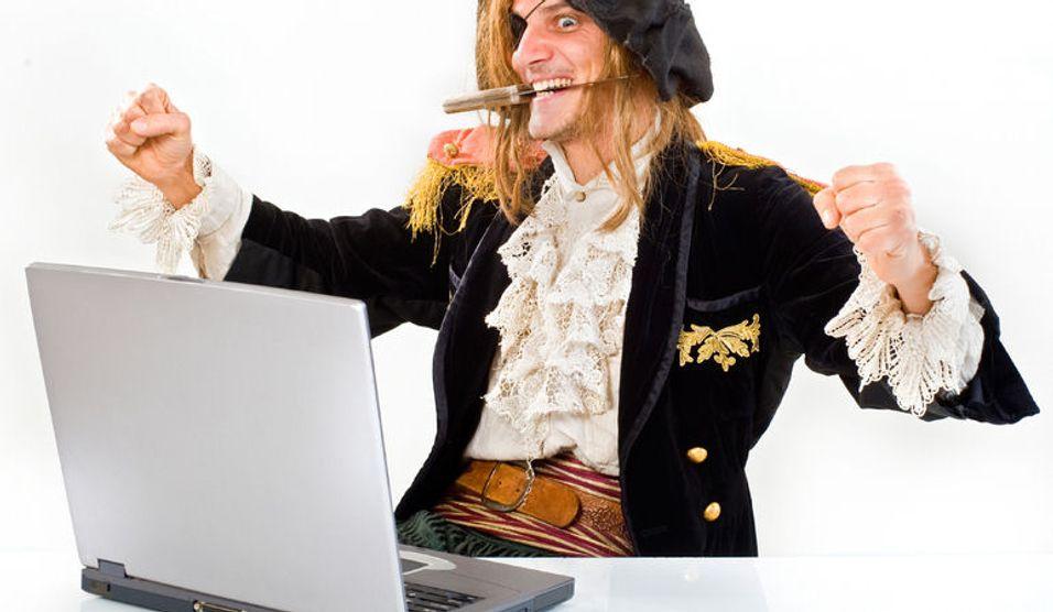 Piratblokade ga rekordtrafikk
