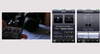 Styr kameraet med iPhone