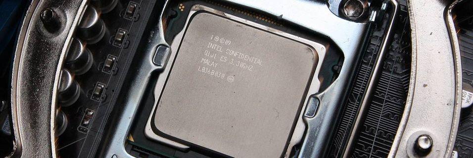 Dropper grafikk i tre prosessorer