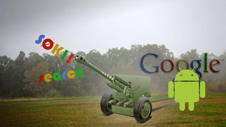 - Android er kun et våpen
