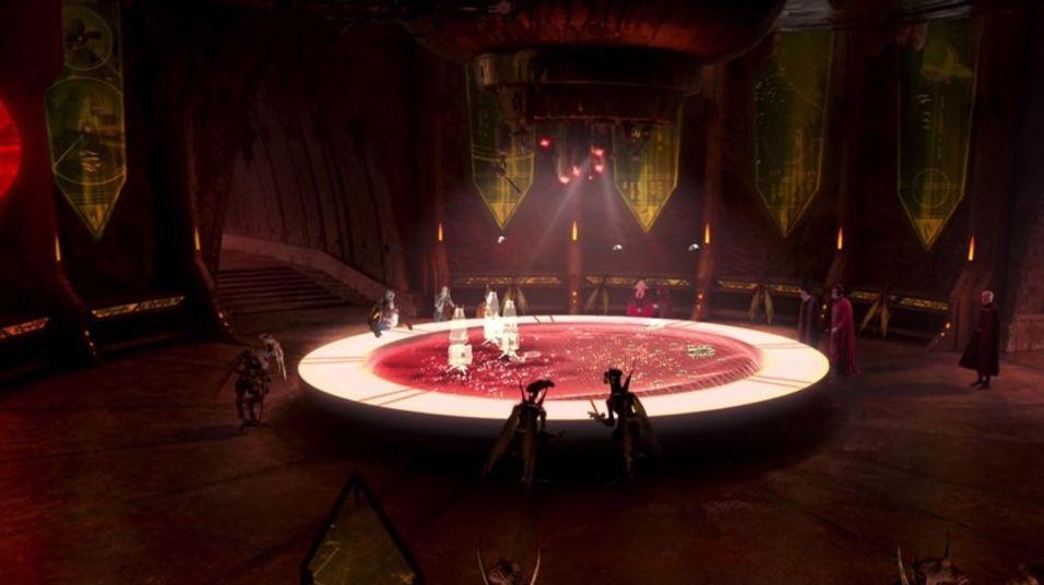 Vil teknologien en gang kanskje bli som vist her i Star Wars: Episode II - Attack of the Clones?