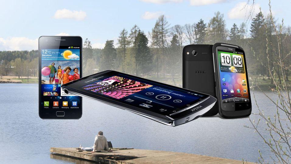 Her er april-mobilene