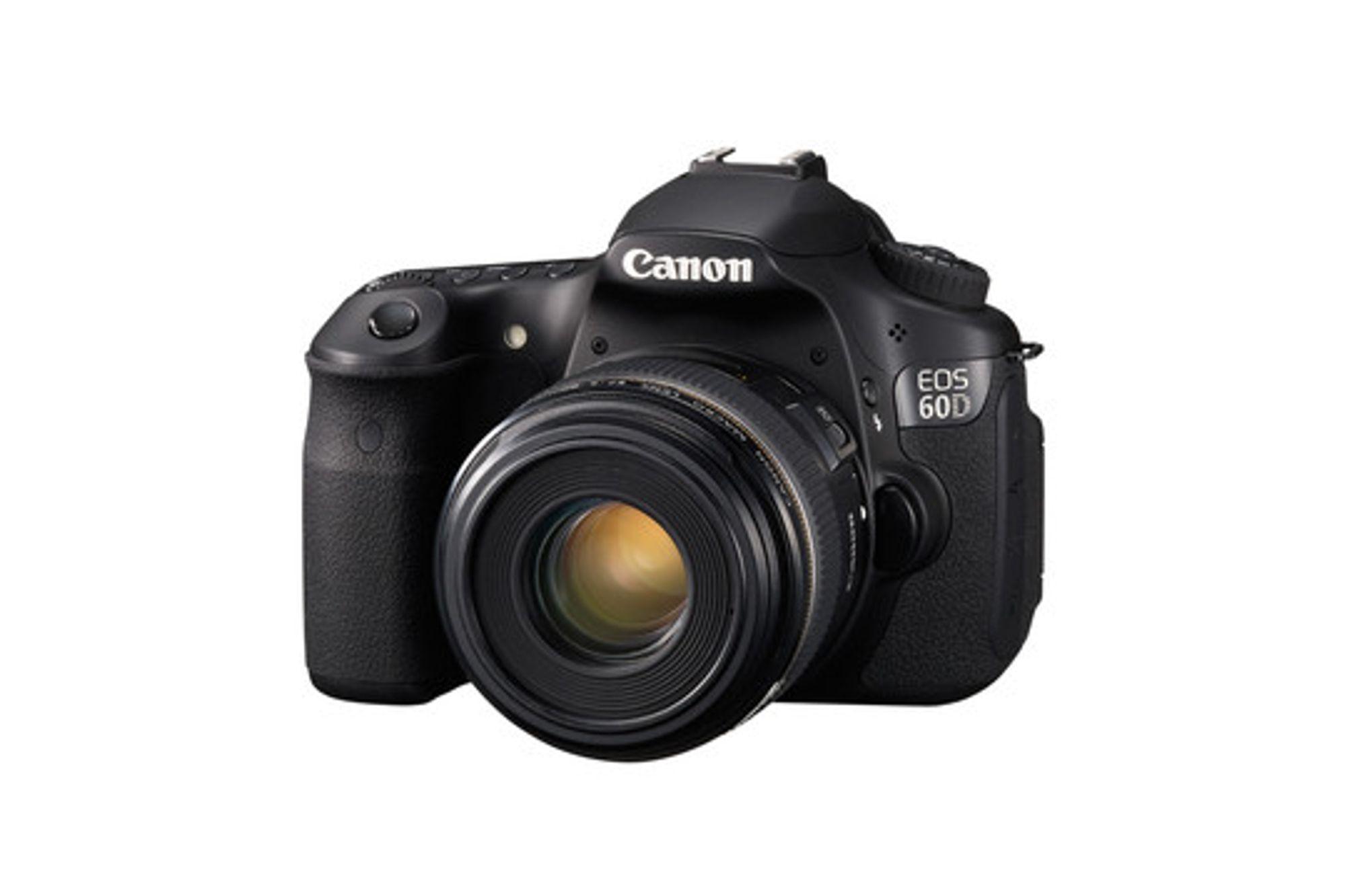 Canon har fikset småfeil på EOS 60D.