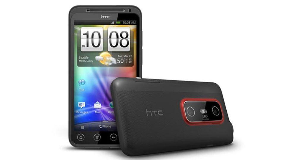 HTC EVO 3D GSM kommer til Norge