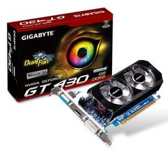 Gigabyte GeForce GT 430 OC 1GB
