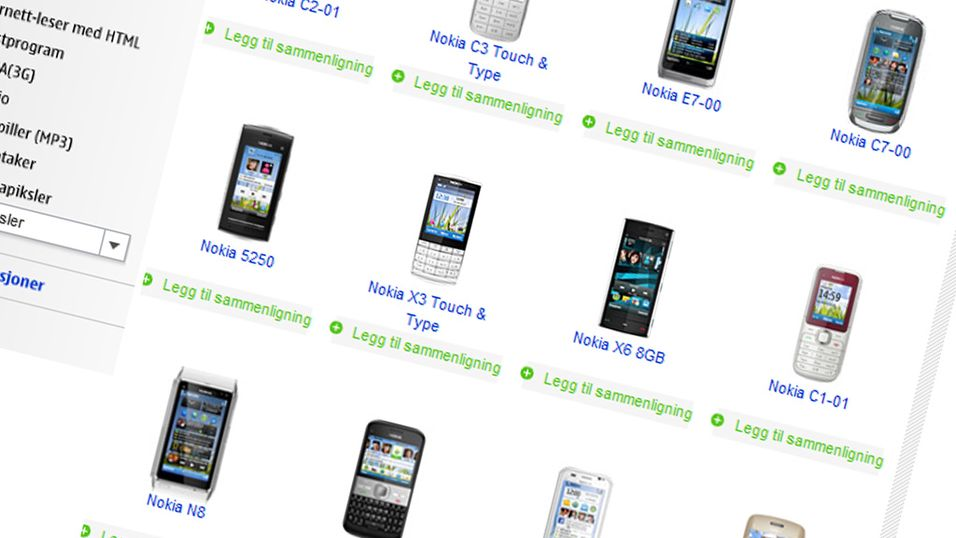 Førti nye mobiler fra Nokia i år
