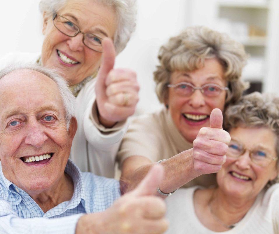 Høyttaler for eldre