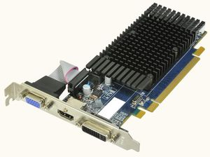 HIS Radeon HD Silence PCI-E 5450 1GB LP