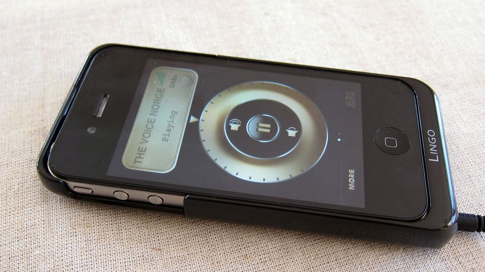 TEST: iRis DAB-deksel til iPhone 4