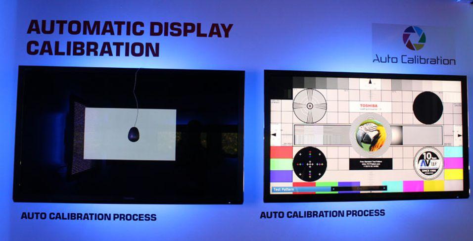 Toshibas HDTV-er får automatisk kalibrering