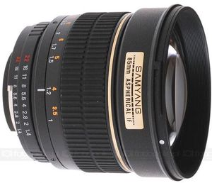 Samyang 85mm F1.4 Aspherical IF for Four Thirds