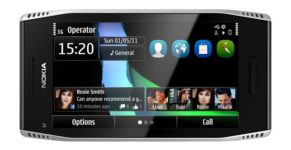 Nokia X7 har levd lenge på ryktebørsen, men kommer ikke til norske mobilhyller.
